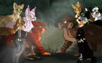 LionClan vs TigerClan  and BloodClan