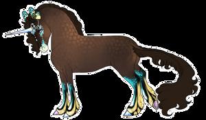 Boucle Unicorn Import B156