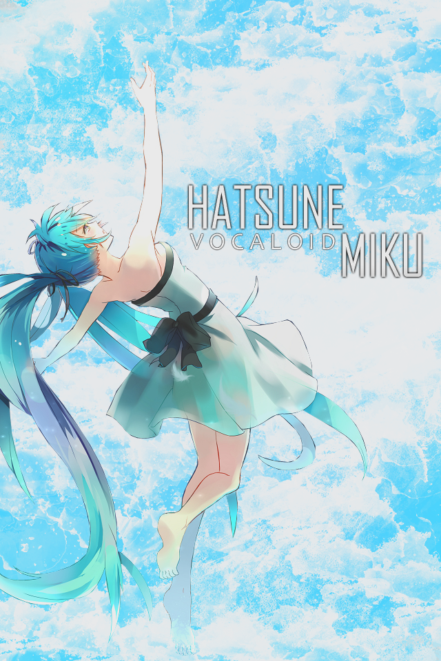 Hatsune Miku IPhone Wallpaper V1 By Me Laurello7