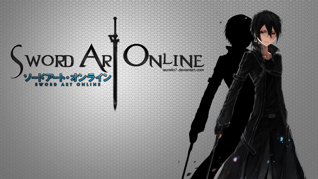 Sword Art Online Kirito Wallpaper by Laurello7 on DeviantArt