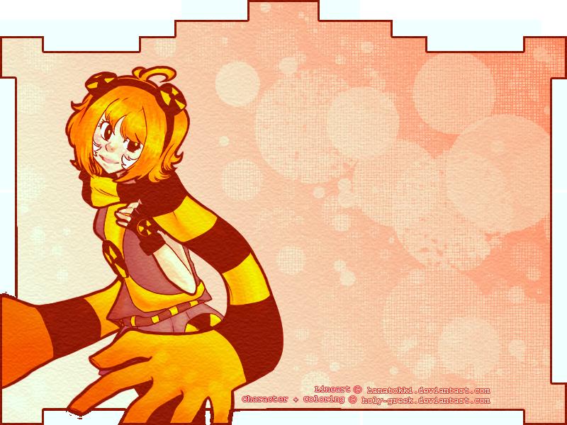 COLLAB:  Hikari Kitsune by Gloriousphilia
