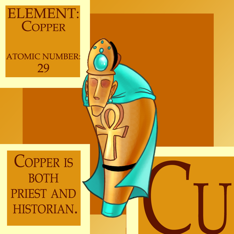 the element copper An easy-to-understand introduction to copper, its properties, how it's mined and processed, and how it's used includes key data and charts.
