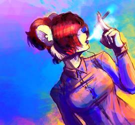 FANART: Dr. Florence by Sakeozo