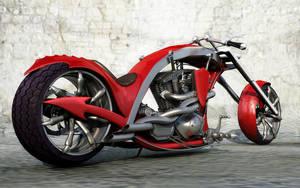 Red Dragon Tail Chooper by Vi2DoubleYu