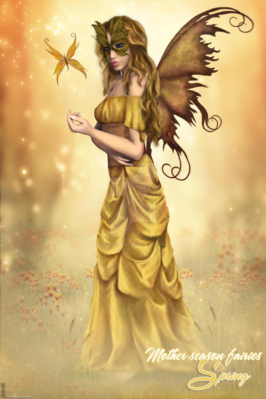 Mother Season Fairies - Spring by Vi2DoubleYu
