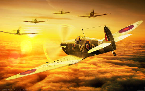 Spitfire Vk.VB Victory in the Dusk Mission