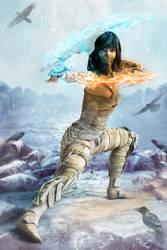 Princess of the Polar Island-Blades of Fire n Ice