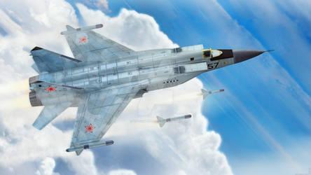MIG-25 - Airborne Attack