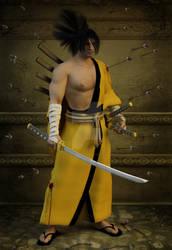 Yoshitora T Musashi -  Thousand arrows