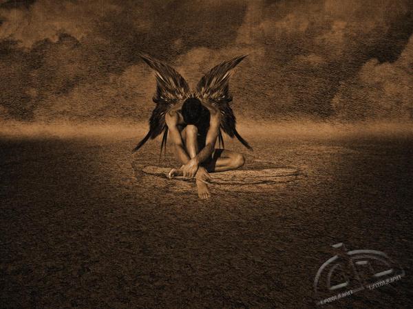The Desert Angel by 4LadyLilian