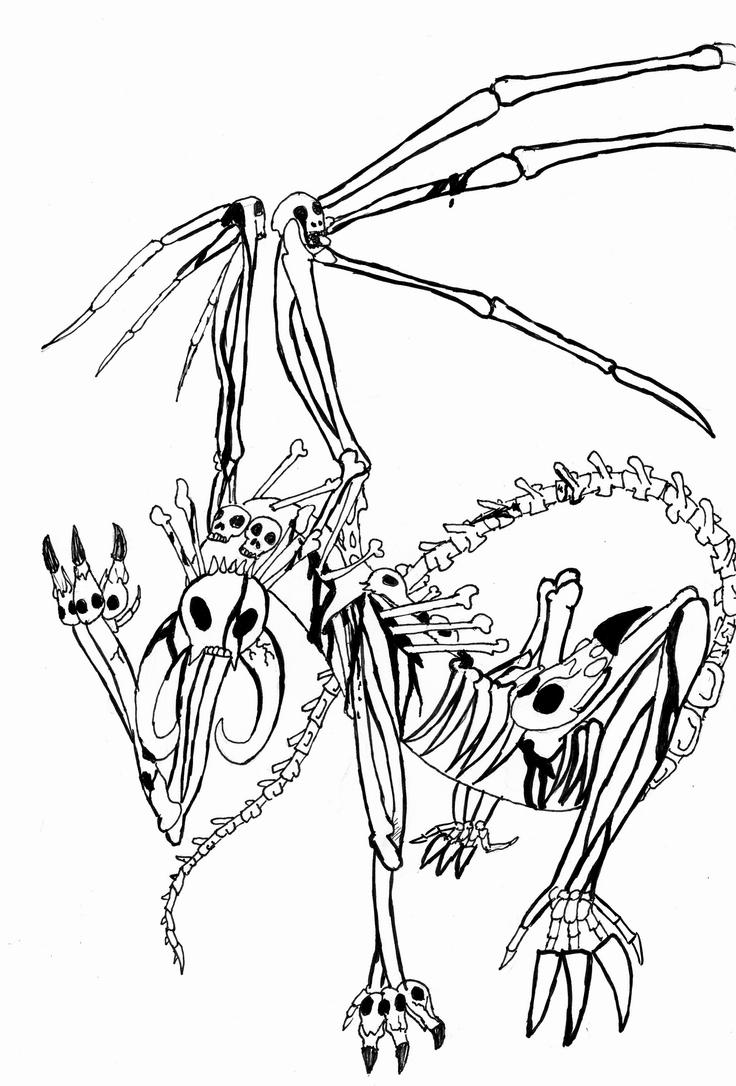 Skull Demon by kartoffelofpain