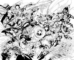 CIVIL WAR - Inks by NeerajMenon