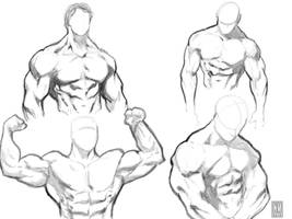 Muscle bound by NeerajMenon