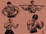 Muscle bound 5 by NeerajMenon
