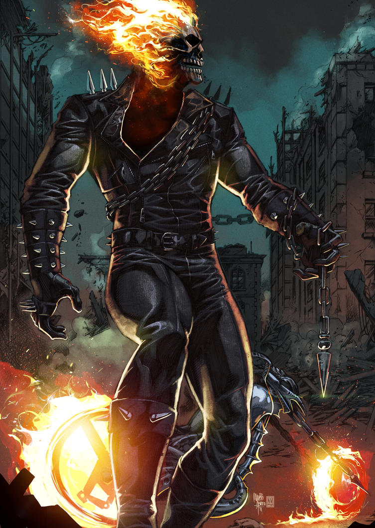 Ghost Rider By Panelgutter On DeviantArt