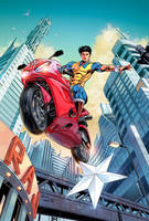 Super Commando Dhruv by NeerajMenon