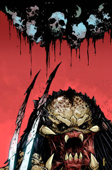 Predator Hunters II Issue #1 Cover