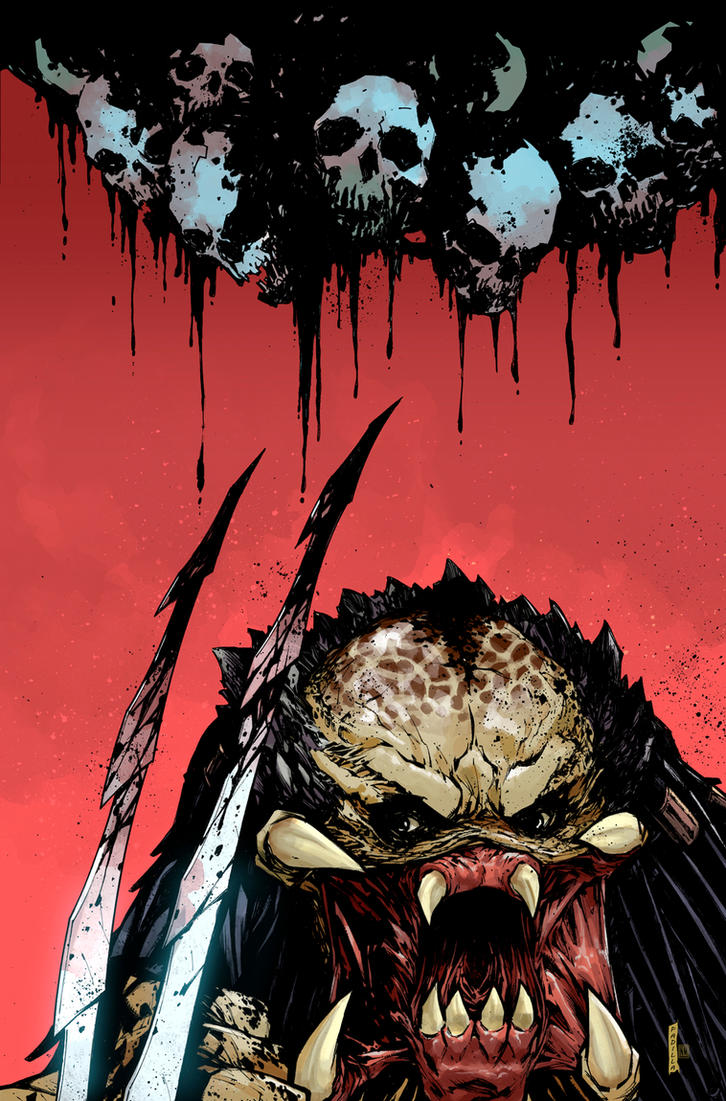 Predator Hunters II Issue #1 Cover by NeerajMenon