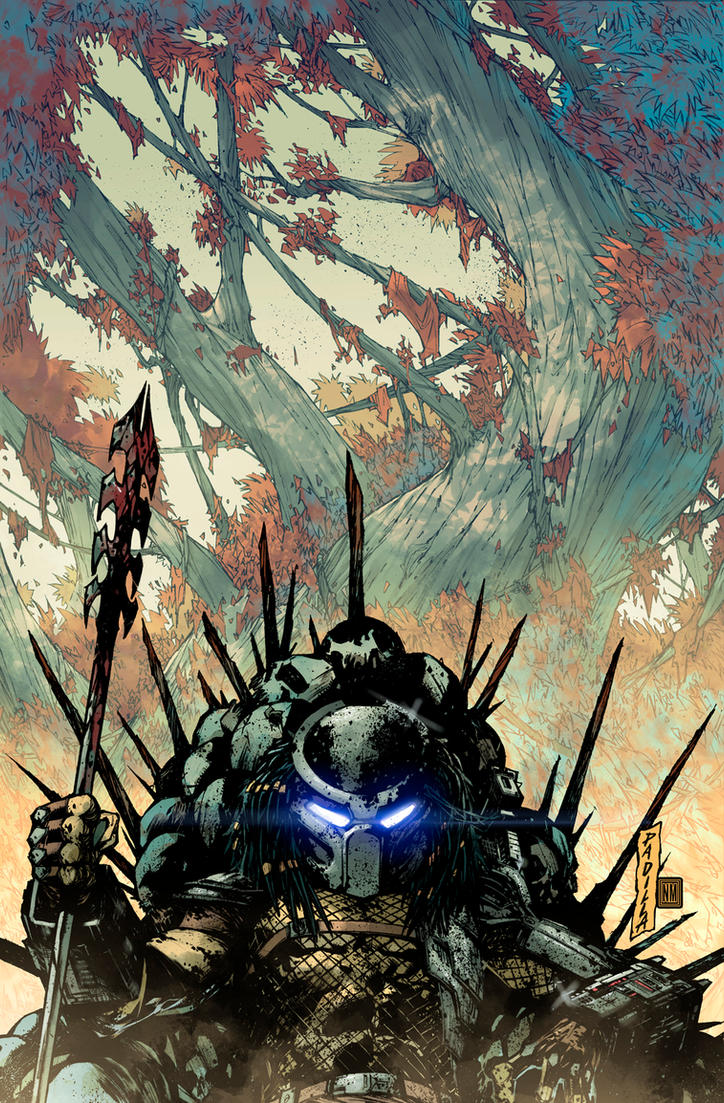 Predator Hunters II Issue #2 Cover by NeerajMenon