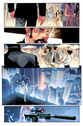 Spider-Man color test page #1 by NeerajMenon