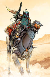 Star Wars-Age Of Rebellion:Boba Fett Page #2
