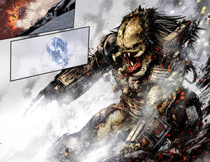 Predator Hunters# 3 Double Spread