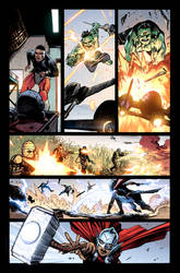 Avengers of The wastelands #1 Preview page 3