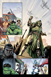 Avengers of The wastelands #1 Preview page 2