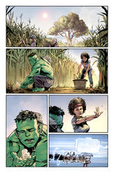 Avengers of The wastelands #1 Preview page 1