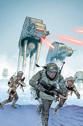 Star Wars :Empire Strikes Back Variant #6