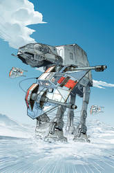 Star Wars :Empire Strikes Back Variant #7