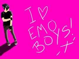 I love emo boys by platinumfrost