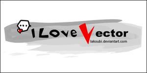 I Love Vector .ID by lakoubi
