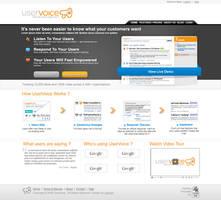 Uservoice - Webdesign by lakoubi