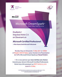 DreamSpark - Event Poster by lakoubi