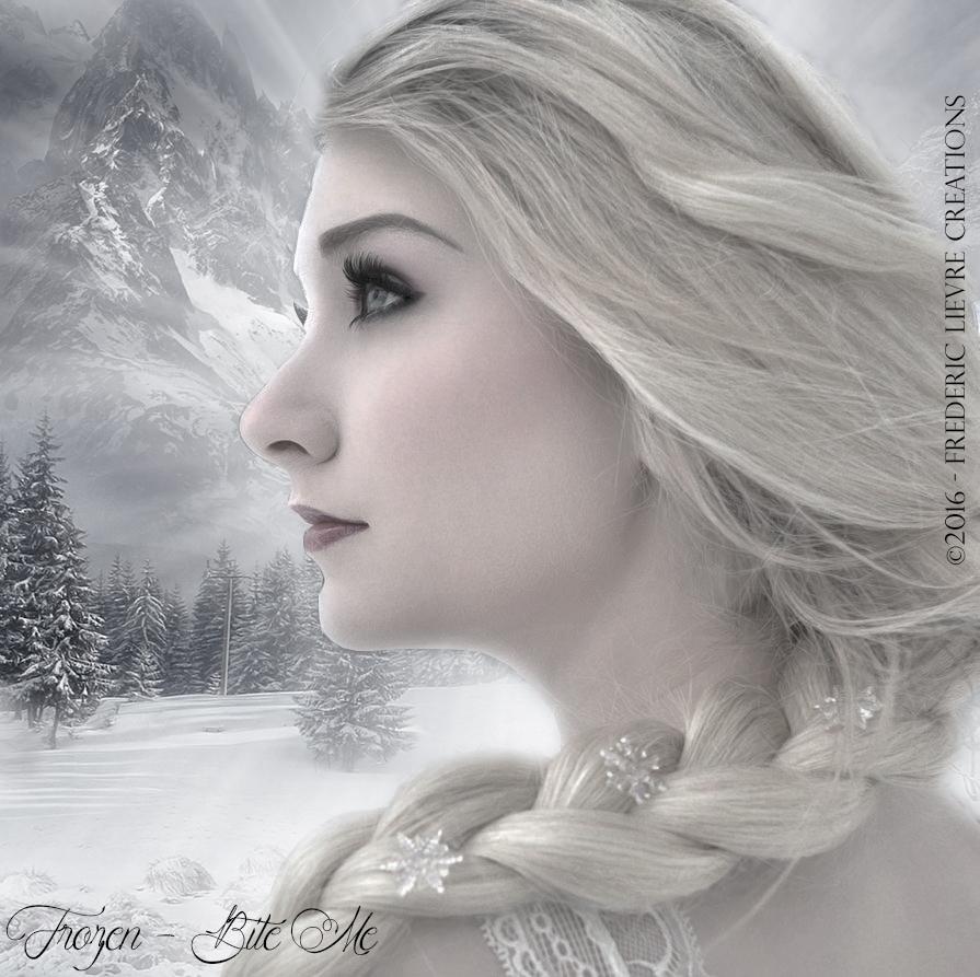 Frozen (Bite me) by Frederic-Lievre