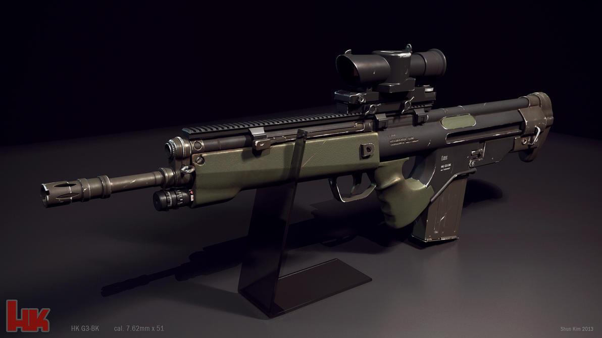Hk G3 BK concept rifle...