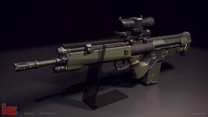 Hk G3 BK concept rifle