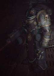 40K Deathwatch Space Marine by STUNNA-K