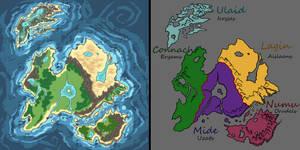Eriu's map