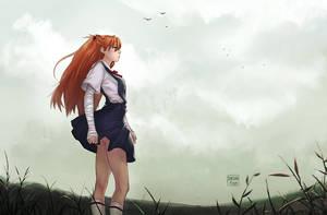 Asuka Langley Shikinami by dandonfuga