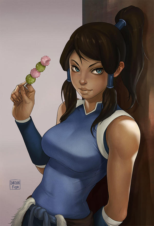 Korra's taking a break by dandonfuga