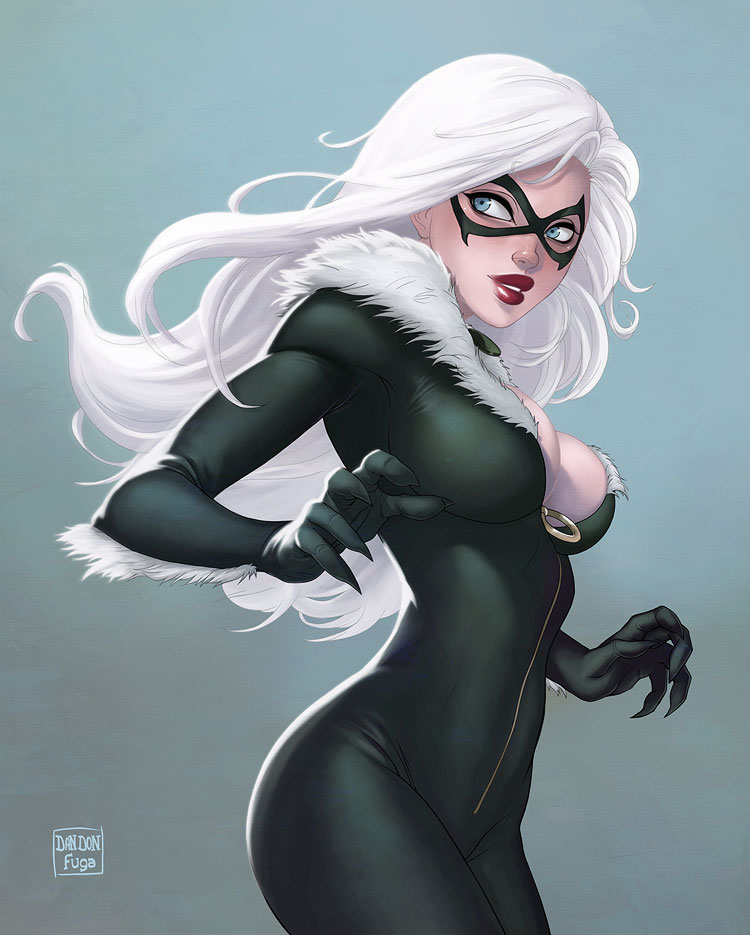 Black Cat by dandonfuga