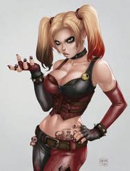 Harley Quinn - Arkham City by dandonfuga