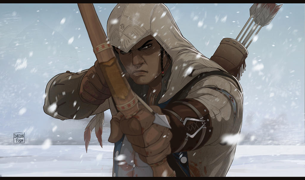 Connor Kenway by dandonfuga