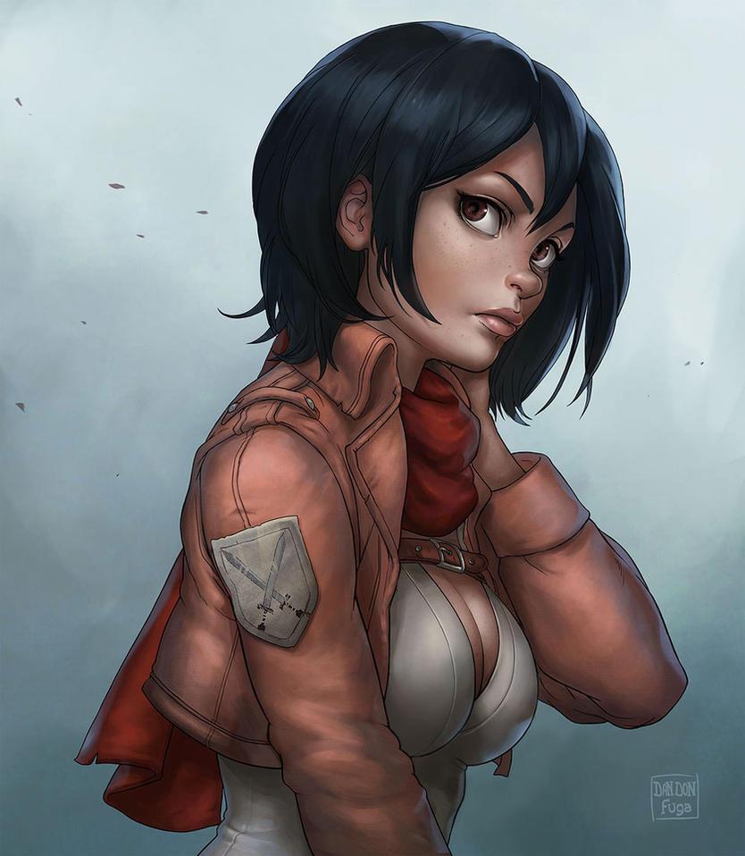 Mikasa by dandonfuga