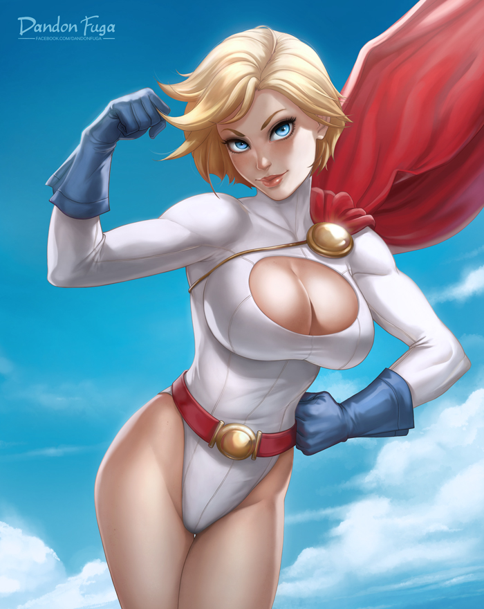 Power Girl by dandonfuga
