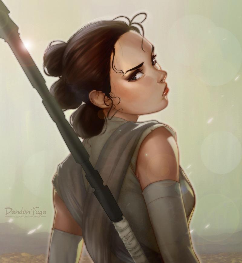 Rey by dandonfuga