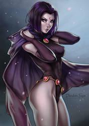 Raven by dandonfuga