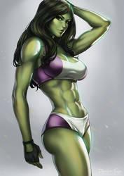 She Hulk by dandonfuga